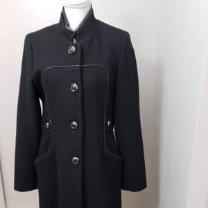 Via Spiga Black Coat SZ 10
